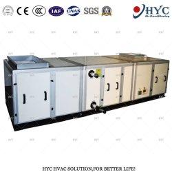 وحدة معالجة هواء اللوحة الداخلية من الفولاذ المقاوم للصدأ مع وظيفة الترطيب
