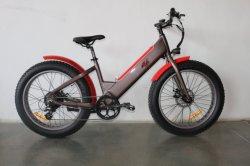 250W 26 pouces de matières grasses des pneus de vélo de montagne électrique E-MI moteur frein de vélo de batterie au lithium de disque