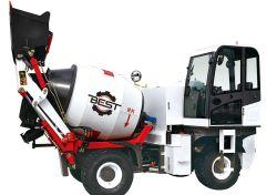 Camion di vendita caldo della betoniera Best1500 con il calcestruzzo dell'uscita netta 1 prezzo cubico di fabbrica e del tester e senza rotazione