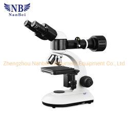 Metalografía microscopio con una alta precisión