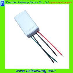 Sensor de movimento de microondas de Sensoriamento Remoto para o interruptor de luz de LED