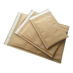 El papel de estraza panal de miel sobre el Medio Ambiente bolsa de papel reciclable.