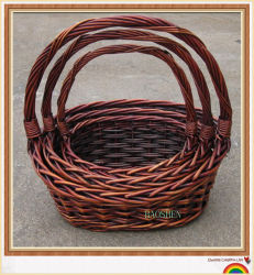 Willow cestaria com pega