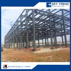 Des structures en acier préfabriqués de grande portée à la Chambre d'acier avec isolation des bâtiments industriels de bord
