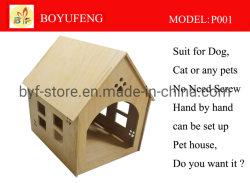 Продажи на заводе префект дизайн открытый и крытый Пэт дом для экологии деревянные (P001)