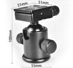 Caméra PTZ Ks-0/1 Ball trépied professionnelles Monopod SLR PTZ d'amortissement