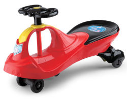 Zetel Dorable, Miniatuurauto van de Miniatuurauto van de Auto van de Batterij van de Baby van de veiligheid de ModelMet Rit van de Auto van de Schommeling van de Afstandsbediening de Lichte en Correcte op Auto