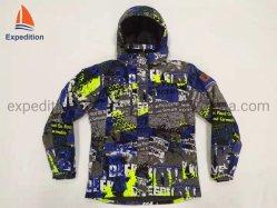 스기와 야외 활동을%s 높 기술적인 스키 재킷과 겨울 재킷을 인쇄하는 남자 재킷 형식 의복 승화