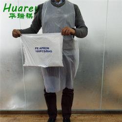 Grau alimentício Poli Masterchef PE descartáveis avental descartável avental de LDPE/HDPE cozinhar Limpeza Casa de Formação do Fardo