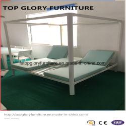 Новый дизайн высшего качества для использования вне помещений двойная патио солнечная терраса алюминиевых Lounge (TG-6001)