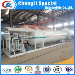 stazione di servizio della bombola per gas di 10ton 20000liters 20m3 GPL per il materiale da otturazione del gas del cilindro