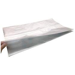 Recyclable haute barrière personnalisé une feuille transparente curseur de la riposte à fermeture à glissière pour d'emballage des aliments pour animaux