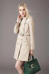 Long Winter Custom Fashion Windmantel für Frauen
