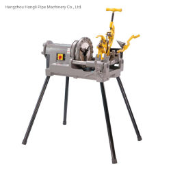 300 tuyau compact jusqu'à l'enfileur Découpe du filet de 2 pouces avec tuyau Ridgid Type meurt usine OEM tuyau Heavy Duty la machine à fileter