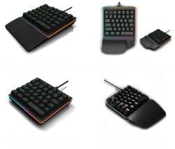 One-Handed Spiel-Tastatur-numerischer Tastaturblock-bewegliche dünne Minizahl-Auflage für Laptop-Tischrechner PC