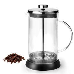 フランス人の出版物のコーヒーメーカーのステンレス鋼のプランジャのフィルターガラスの茶メーカー
