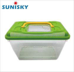 높은 투명한 이식 가능성 플라스틱 애완 동물 상자