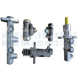 Главный тормозной цилиндр, Главный цилиндр привода сцепления и тормозной цилиндр колеса
