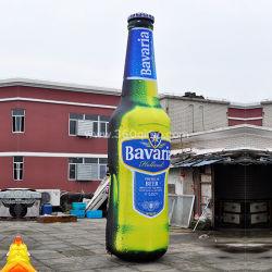 Angepasst, aufblasbaren Bier-Dosen-riesigen Flaschen-Modell-Ballon für Förderung Ib068 bekanntmachend