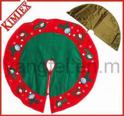 Venda por grosso de Promoção de bordar saia de árvore de Natal