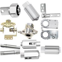 Amortecimento de hardware de metal de plástico do fuso de aço inoxidável