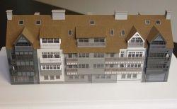 La construcción de modelos escala arquitectónica _modelo residencial (JW-63)