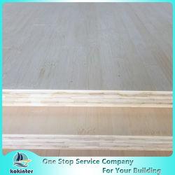 Capas de 13 mm del borde natural del grano de bambú tablones de madera para muebles / Encimera / Suelo / monopatín