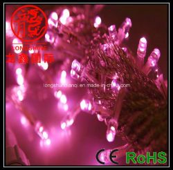 LED-Zeichenkette hellrosa (LS-SD-10-100-M1)