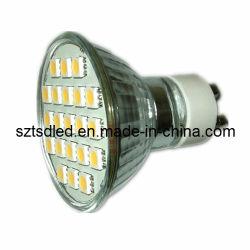 Hohe Lumen wärmen weißes 80ra 5050 SMD LED Punkt-Licht (TD-TG5050GU10WW21)