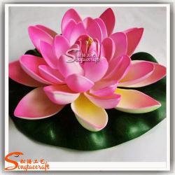 Fiore di plastica impermeabile del loto artificiale della decorazione del Rockery