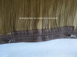 El cabello humano natural virgen brasileño Hair Extension de cabello de encaje trama