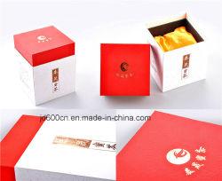 Caja de té Caja de almacenamiento Hot Stamping papel de embalaje Caja de té