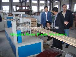 PVC/PP/PE Profil plastique Ligne de production de bois