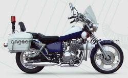 250cc полицейских мотоцикла с высокой мощности для компактной системы навигации Honda