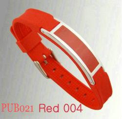 Pub Bracelet en caoutchouc de silicone (PUB021)