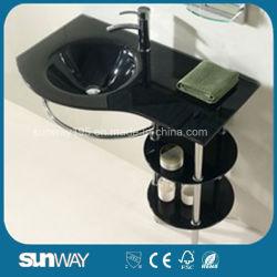 Hangzhou gehärtetes Glas Waschbecken Badmöbel SW-G133