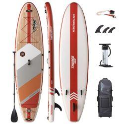 La Chine libre de gros de conception personnalisée Inflatable Stand Up Paddle Board, Conseil de Yoga, Soft Haut Conseil de l'unité SUP