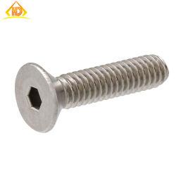 Hochwertige Zylinderkopfschrauben Ss 304 316 DIN 7991 mit Innensechskantschlüssel