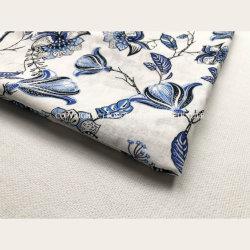 Fournisseur d'usine impression de soie y/D normale et lin teint Uni Tissu en coton viscose