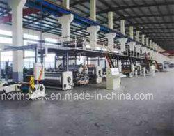 생산 라인 플랜트 기계를 만드는 3 개 5 개 7개의 층 물결 모양 두꺼운 종이