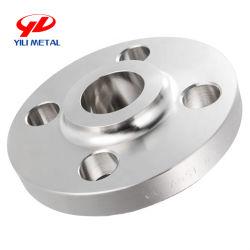 شفة SS من الفولاذ المقاوم للصدأ تركيبة 304L/316L عنق اللحام/Blind/Slip On/Flat لوحة/مقبس RF/FF مع سعر المصنع