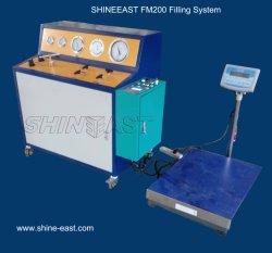2017 Hot Venda FM200 máquina de enchimento pneumática com marca Scale-Shineeast Elétrico
