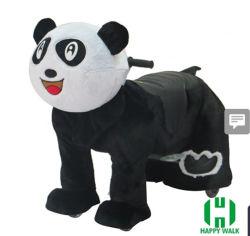 Kind-Plüsch motorisierte Tier-Roller-elektrische Tierbewegungsfahrt auf Tierspielzeug für Verkauf