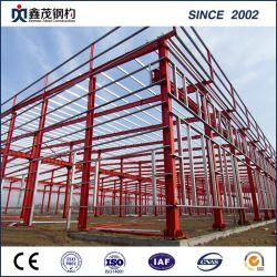 Châssis en acier préfabriqués Structure en acier de construction préfabriqués