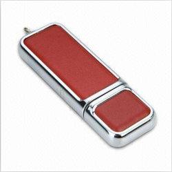 Disque flash USB en cuir, de promotion disque USB
