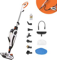 1500W 10 in 1 Zwabber van de Stoom voor Tegel, de Vloer van het Hardhout en Tapijten met de Handbediende Reinigingsmachine van de Stoom voor Keuken
