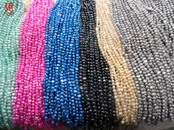 4-5mm AA Nugget Baroque Pearl Strands