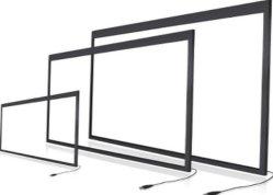 Les trames Multi-Touch 47 pouces/écrans pour les banques de la Conférence de la publicité d'événements multi-affichages