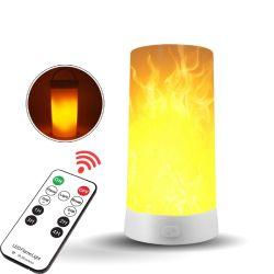 Источник на заводе эффект пламени пульт ДУ аккумуляторы магнит свет пламени оформление Emulatio огонь без мерцания LED лампы пламени ночной свет настольные лампы