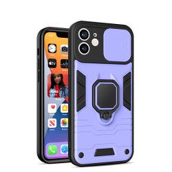 Caixa de telefone com íman semi-grossista para automóvel com suporte, proteção anti-riscos contra choques TPU e PC Capa para telemóvel para iPhone Case 11/12/13/X/XS/Xr/PRO/PRO Max/Plus/Mini